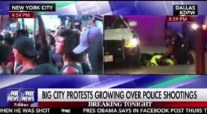 Protests Over Police Shootings